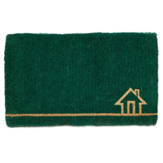 Ghar Teal | 100% Coir Doormat | 45x75 CM | Fab Habitat