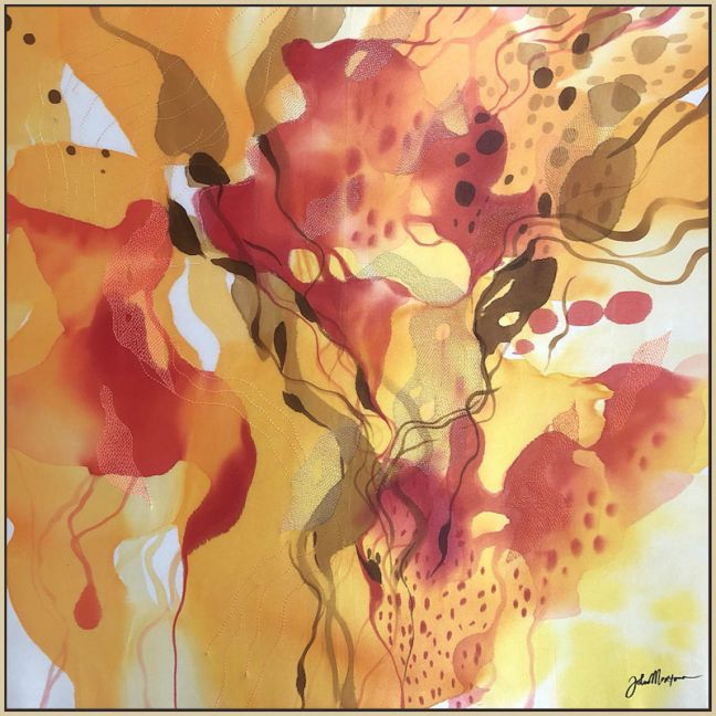 Glowing Morning by John Martono | A Print on Canvas | Framed or Stretched