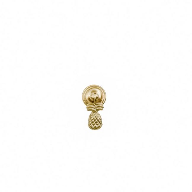 Gold Brass Pineapple Hanging Drawer Pull   OMG I WOULD LIKE