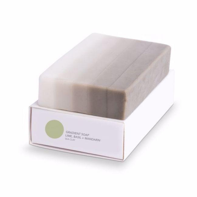 Gradient Soap | Lime Basil Mandarine | Handmade by Fazeek