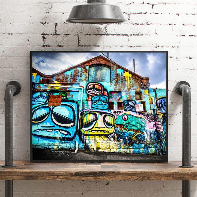 Graffiti Street Art | Artworx Geelong | Limited Edition Photographic Print or Canvas
