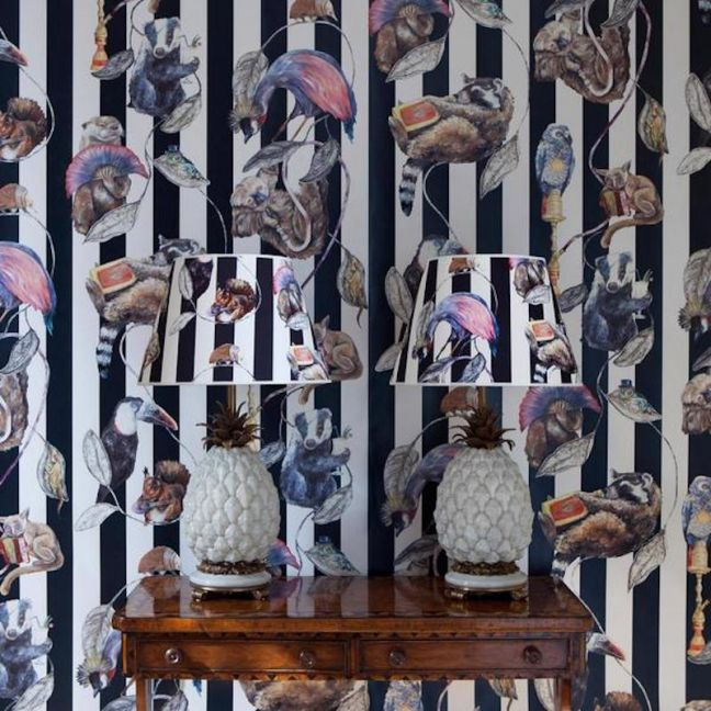 Hackney Empire Stripe Wallpaper