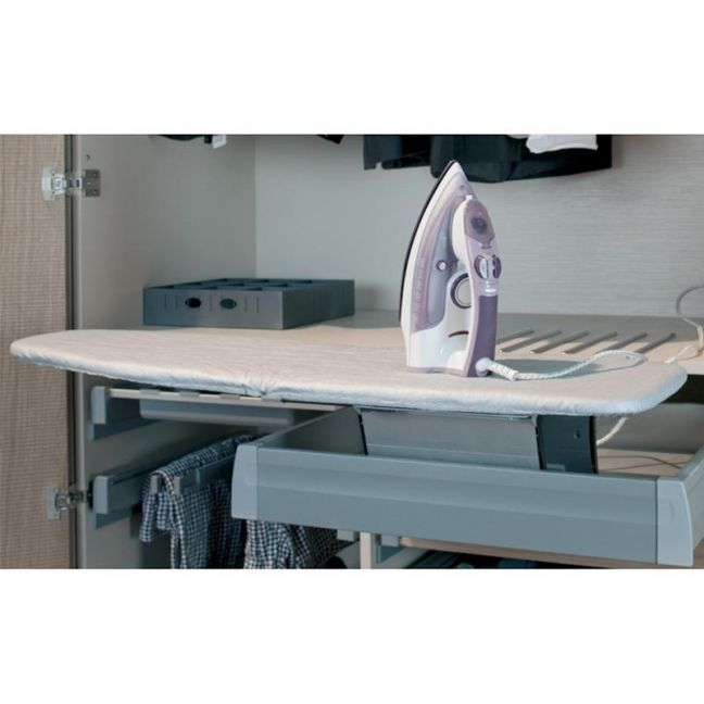 Hafele Ironfix Ironing Board | Lateral Mounted