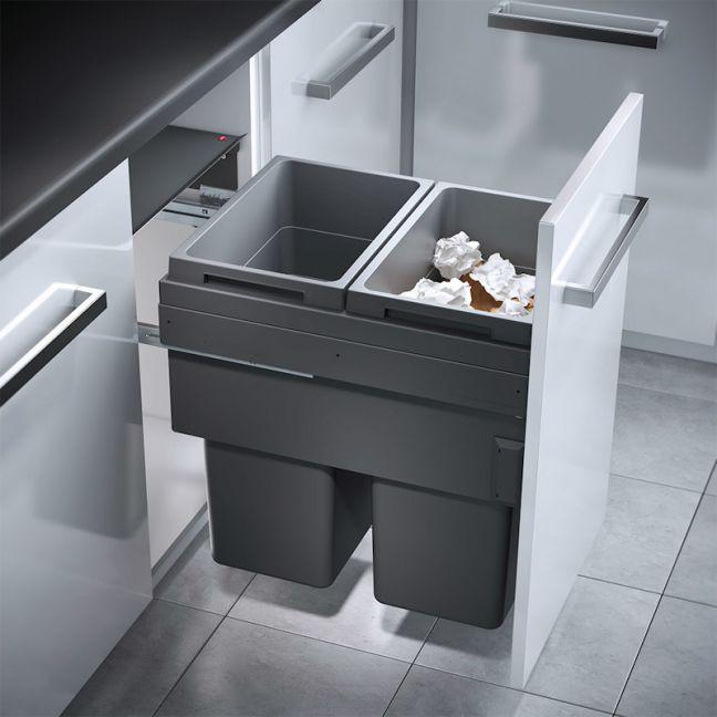 Hailo Euro Cargo ST45   Kitchen Bin