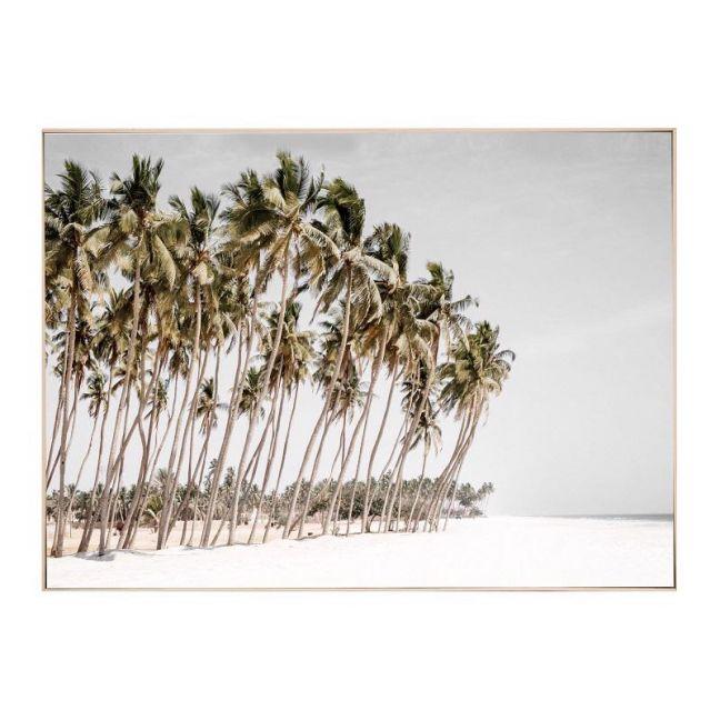Haiti Beach | Framed Canvas Art