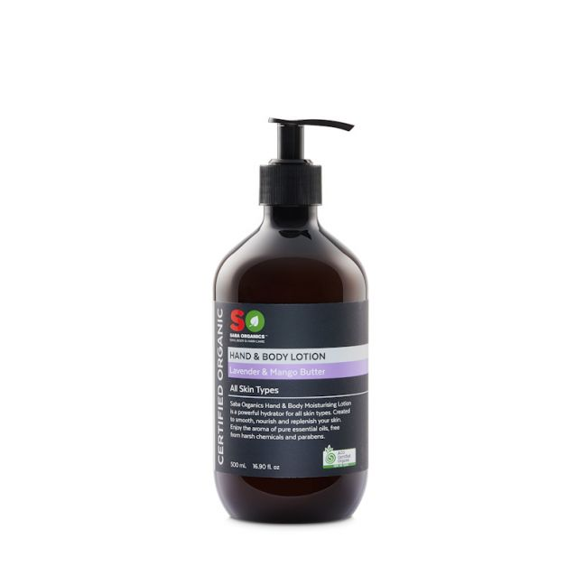 Hand & Body Lotion - Lavender & Mango Butter