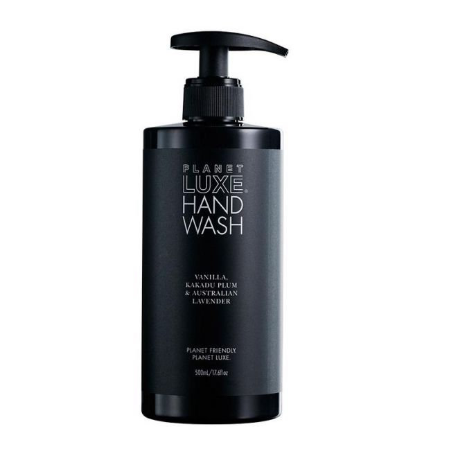Hand Wash Vanilla 500mL | Black Bottle