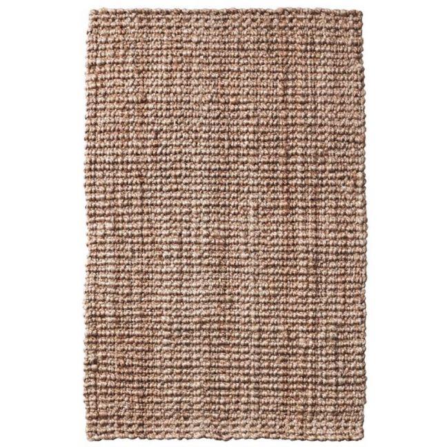 Handmade Natural Chunky Weave Boucle Jute Rug