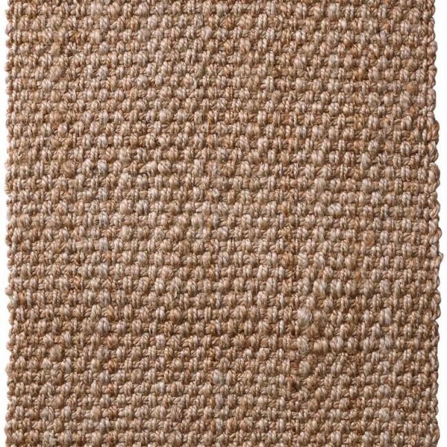 Handwoven Basket Weave Natural Jute Rugs