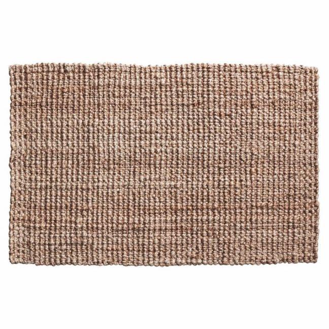 Handwoven Chunky Weave Jute Mat | Entrance Mat | Non-Slip