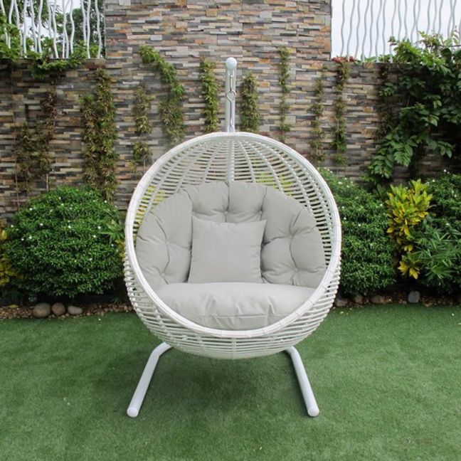 Hanging Chair White | Outdoor