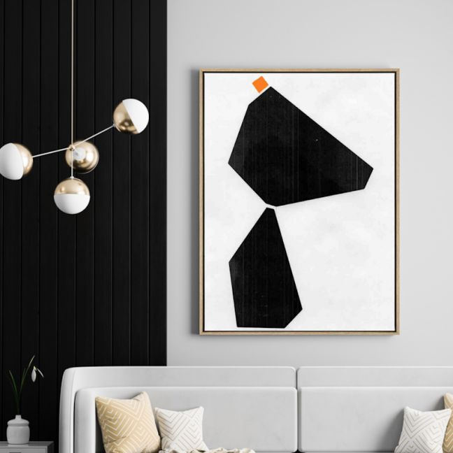 Hanging Rock   Drop Shadow Framed Wall Art