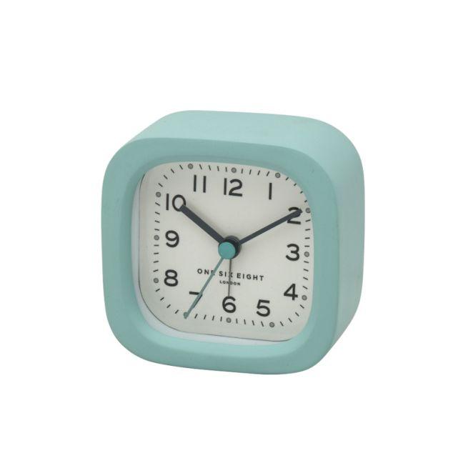 Harry Alarm Clock | 8cm | Resin | Duck Egg Blue | One Six Eight London
