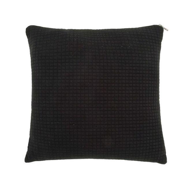 Haus Grid Cushion in Black