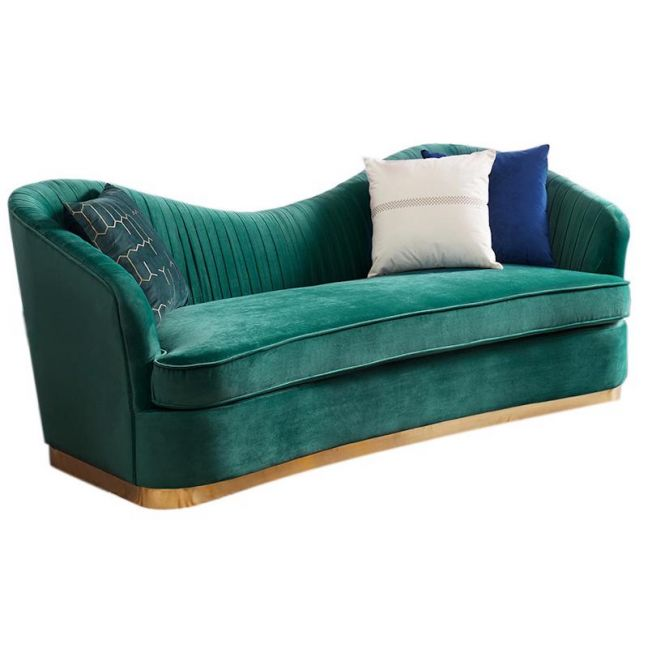 Helen Curved Lounge   One, Two or Three Seater   Customisable
