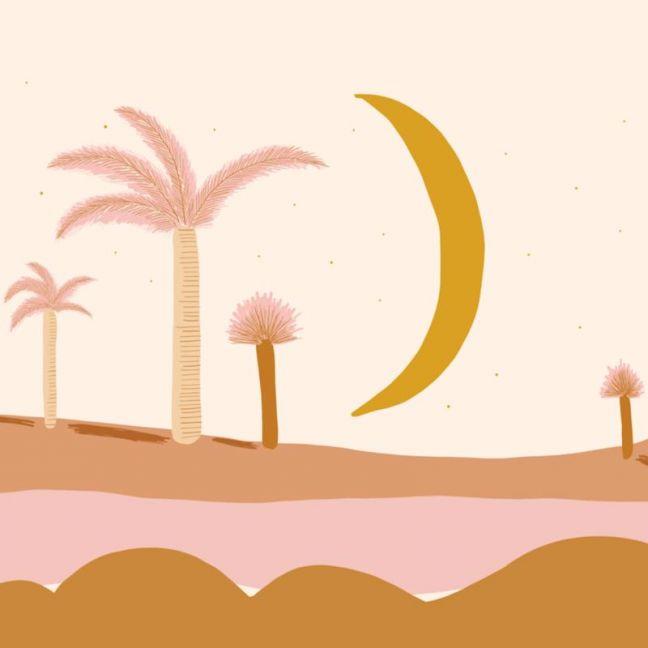 Hello Moon Mural