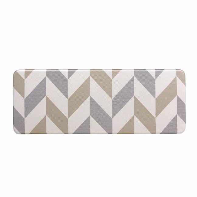 Herringbone Gainsboro | Anti Fatigue Mat | Kitchen, Laundry & Bathroom Mat