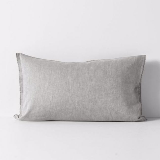 Herringbone Pillowcase | Dove