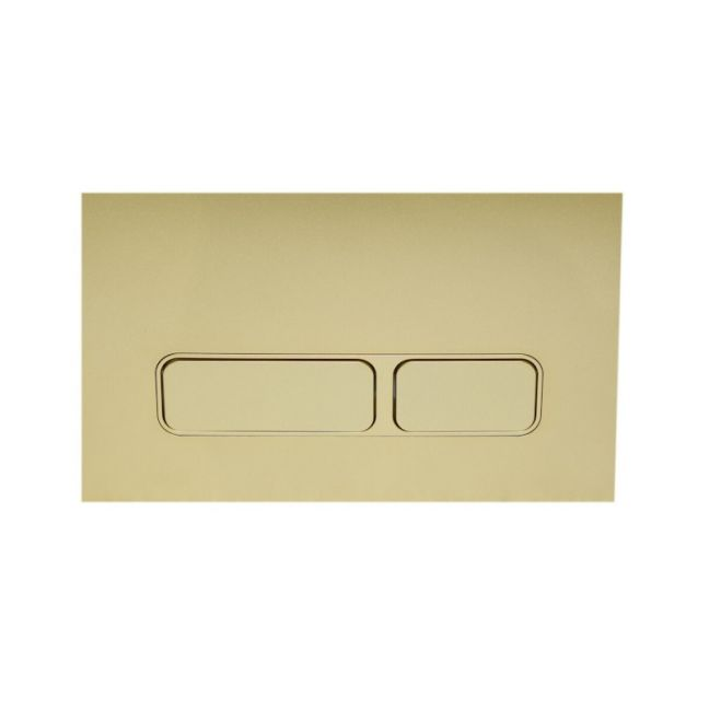 Hideaway+ Rectangle Button/ Plate Inwall ABS Champagne | Reece