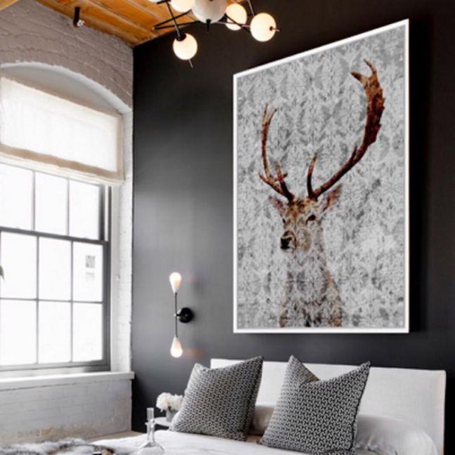Highlands   Floating Framed Canvas Art