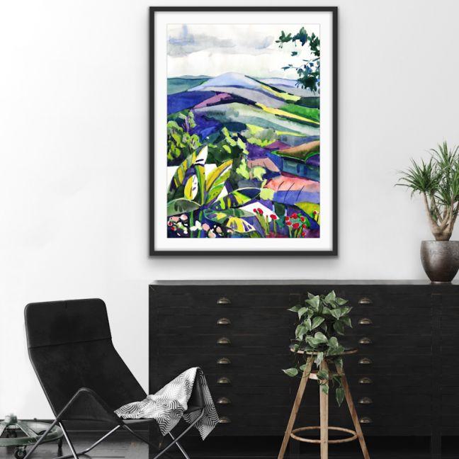 Hinterland   Wall Art or Canvas Print