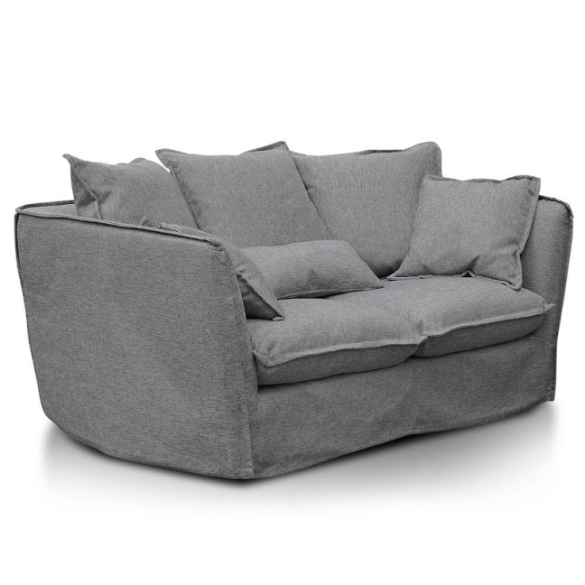 Homestead 2 Seater Sofa   French Grey