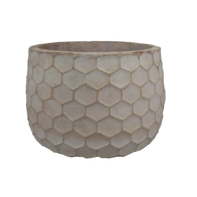 Honeycomb Terracotta Garden Pot