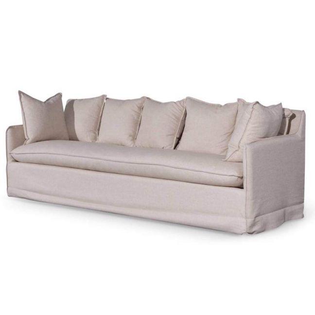 Howell 4 Seater Fabric Sofa | Beige