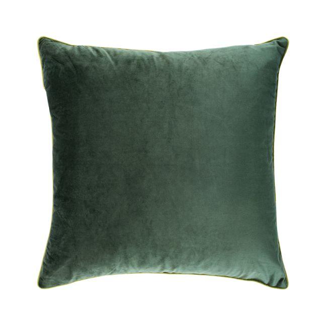 Hunter Green Oversize Velvet Cushion