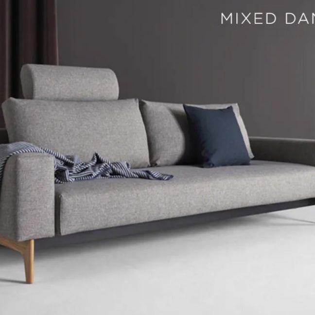Idun Sleek Double Sofa Bed | Innovation Living | Various Colours