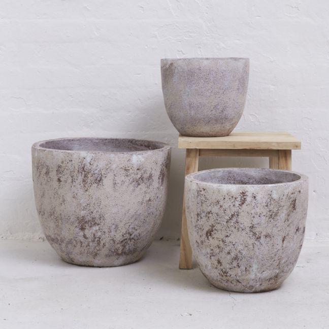 Inka Textured Pot