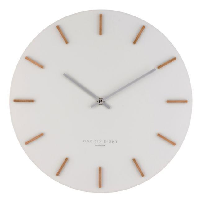 Ivy - 35cm Cool Grey Silent Wall Clock