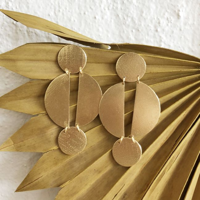 Jael Earrings Gold