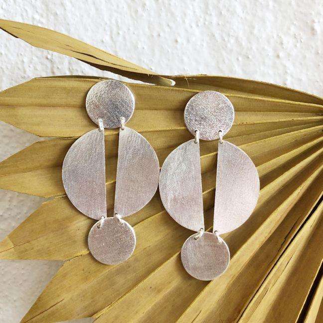 Jael Earrings Silver