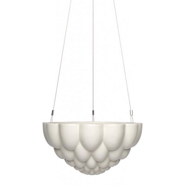 Jelly Round | White | Hanging Planter by Angus & Celeste