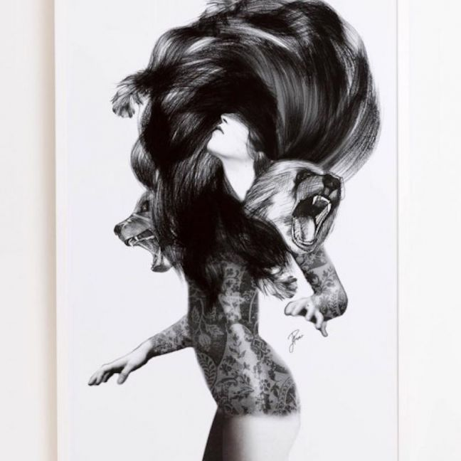 Jenny Liz Rome | Bear #3 | Print