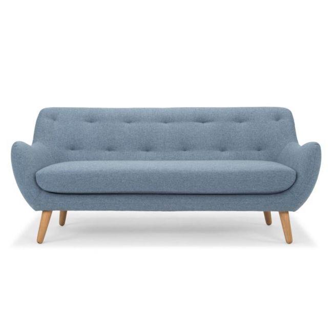 Jensina 3 Seater Sofa | Denim | Interior Secrets