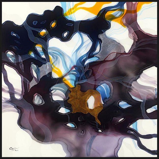 John Martono | Purple Evening | Canvas | Various Sizes by Tusk Gallery