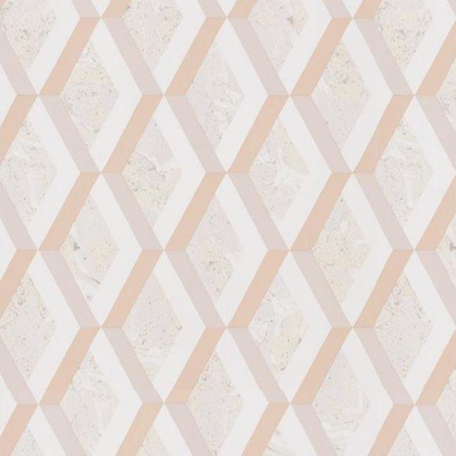Jourdain Trellis Wallpaper - Fresco
