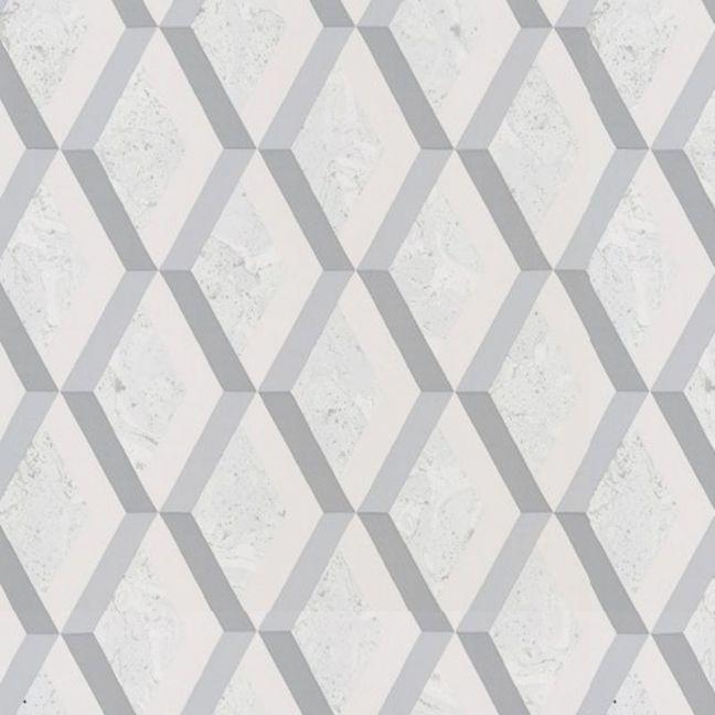 Jourdain Trellis Wallpaper - Graphite