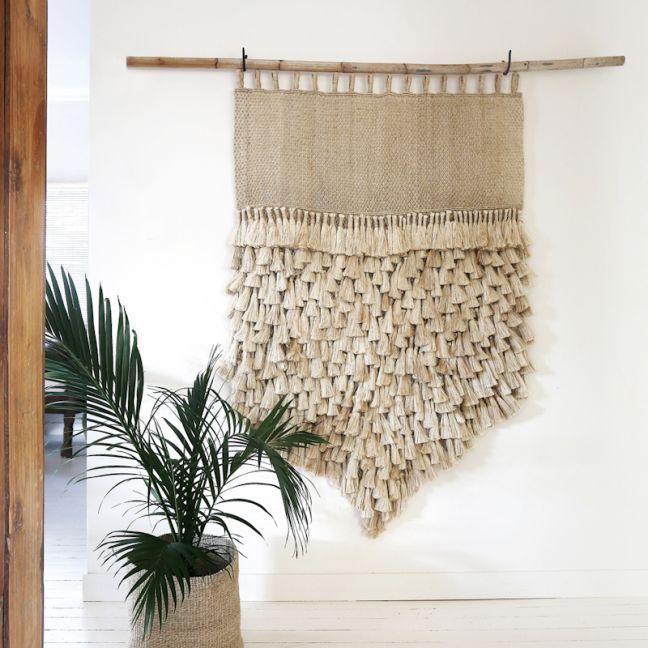Jumbo Tassel Wall Hanging | Natural