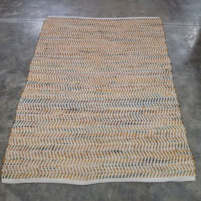 Jute Padel Rug  | 120 x 180 cm Rug | Bohemio Furniture