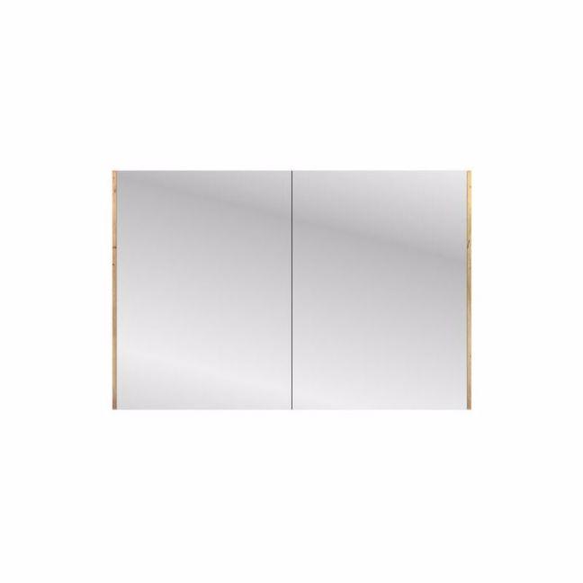 Kado Arc Shaving Cabinet Double Door - Solid Timber Sides   Reece