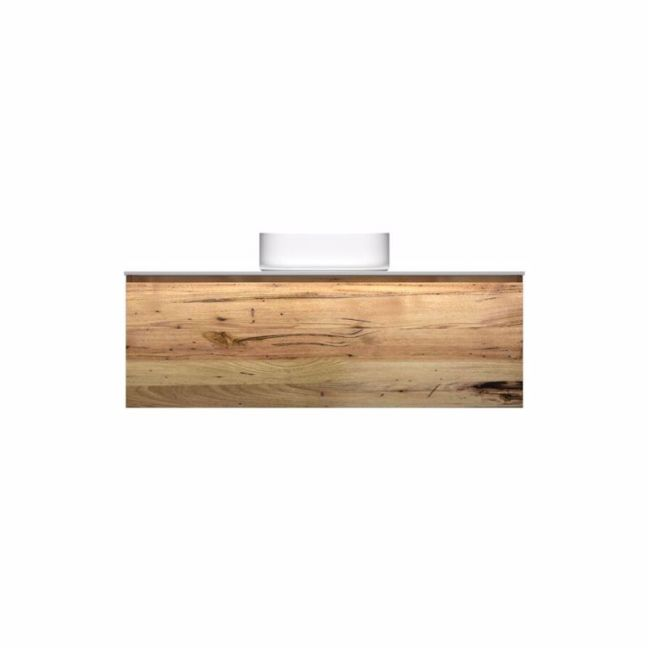 Kado Arc Timber All Drawer 1200 Vanity Corian 12mm Top | Reece
