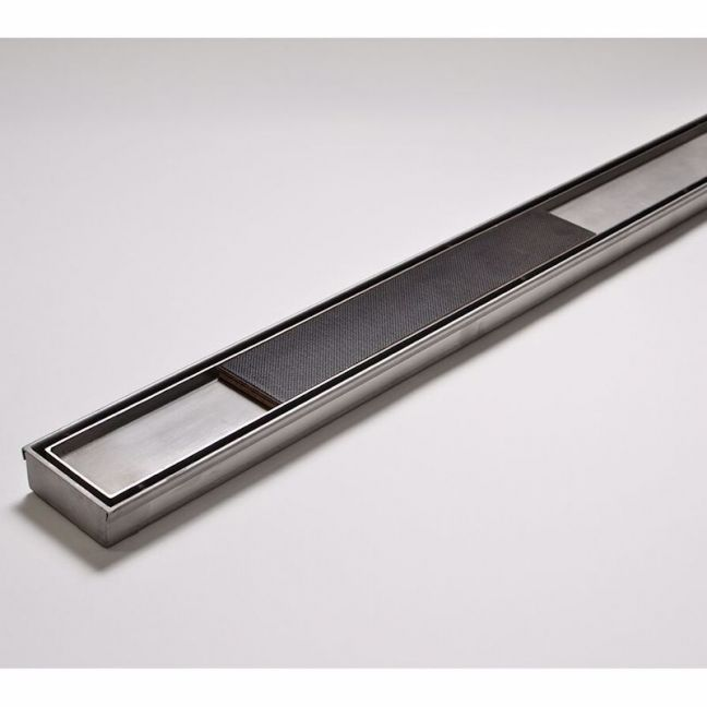 Kado Lux Tile Insert Channel Welded Ends Made to Length Satin   Reece