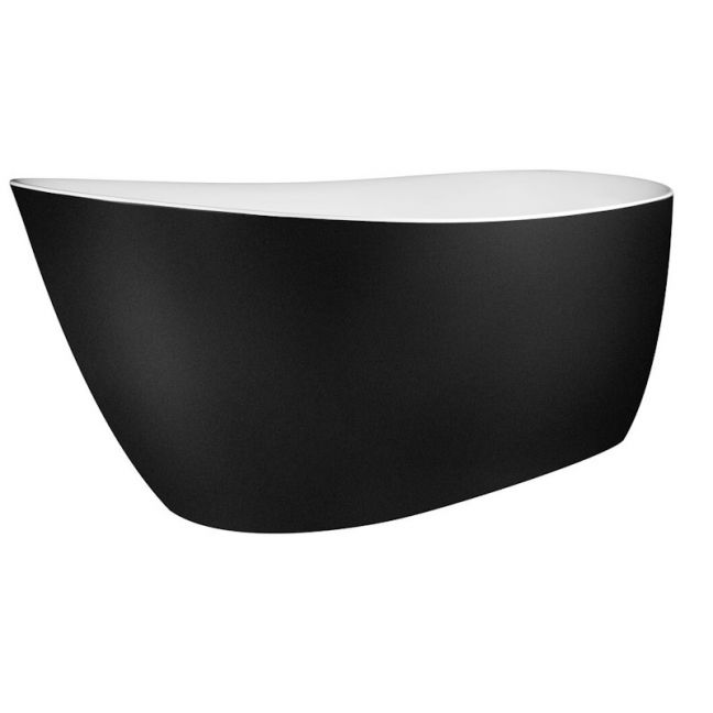 Kado Neue Freestanding Bath Matte Black | Reece