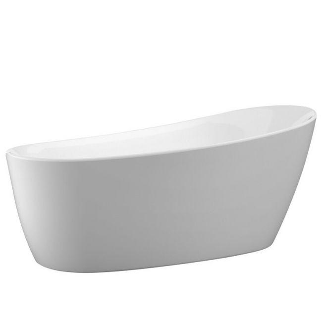 Kado Neue Freestanding Bath Matte White