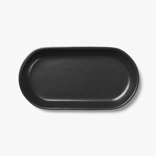 Kali Medium Platter | Graphite by Aura Home
