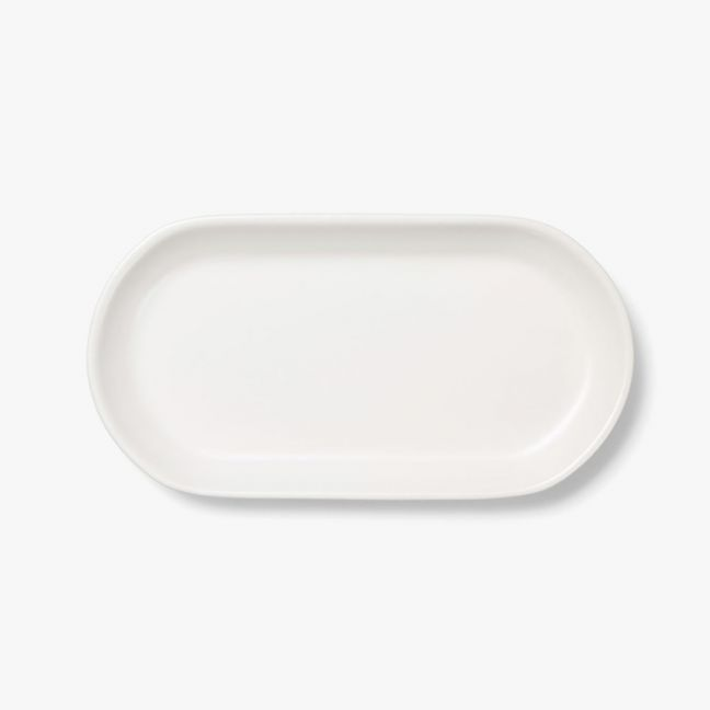 Kali Medium Platter | Marshmallow by Aura Home