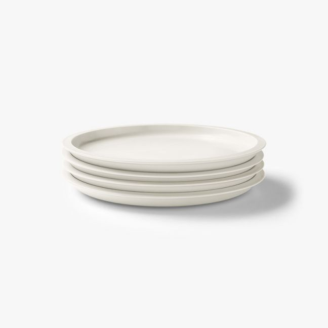 Kali Side Plate Set of 4 | Marshmallow by Aura Home